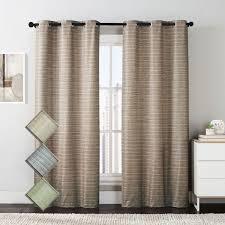 Grommet Drapes Meridian Room Darkening Grommet Top Window Curtain Drapes Thermal