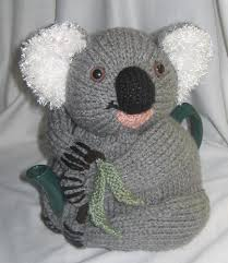 koala tea cosy knitting pattern by rian anderson knitting