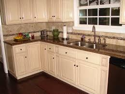 kitchen mesmerizing kitchen backsplash white cabinets brown