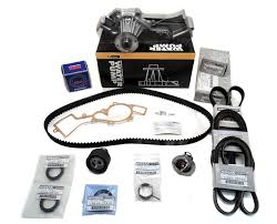 complete genuine timing belt water pump kit fits nissan pathfinder