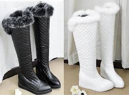 womens knee high boots australia sale 2015 grid design boots rabbit fur boots winter boots high