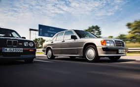 lowered mercedes 190e mercedes benz 190e 2 3 16 vs e30 bmw m3 motor trend classic