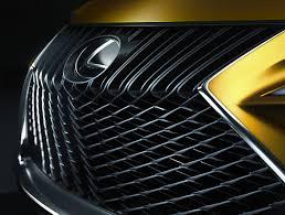 lexus yellow triangle light lexus cars news lexus flips the lid off lf c2 roadster concept