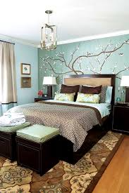 apartments comely bedroom decorating ideas blue and brown