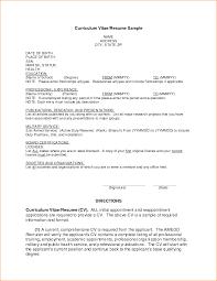 Sample Of Resume Format For Job 14 Example Job Resume For First Job Basic Job Appication Letter