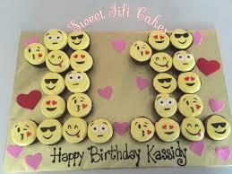 Emoji Pull Apart Cupcake Cakes Sweet Fifi Cakes Sweet Fifi - Pull apart cupcake designs