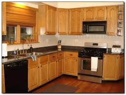 kitchen ideas with oak cabinets and stainless steel appliances kitchen paint ideas oak cabinets hawk