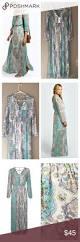 paisley print maxi dress nwt