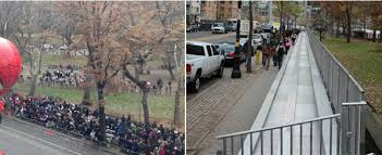 new york city thanksgiving day parade seating solutions