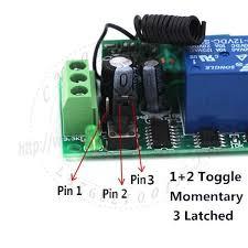 long range remote control light switch dc wireless long range remote relay control light switch 12v 8ch smd