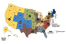 federal circuit court map court website links united states courts