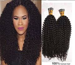 Mongolian Curly Hair Extensions by Amazon Com Luffy 100s Pack 1g S Curly I Tip Hair
