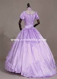 Victorian Halloween Costume Violet Southern Belle Masquerade Period Ball Gown Princess