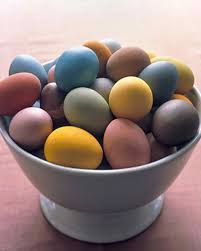 dyeing eggs naturally martha stewart