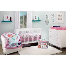 Baby Bedding Disney Ariel Sea Treasures 4 Piece Crib Bedding Set Walmart Com