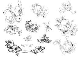 ornamental flourish vector pack free vector stock