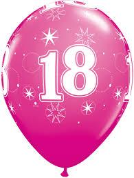 balloons for 18th birthday birthday berry balloons