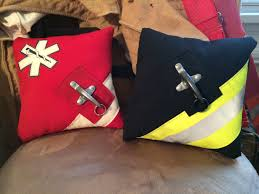 Firefighter Wedding Rings by Firefighter Wedding Bunker Gear Ring Pillows My Creations