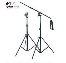 studio light boom stand heavy duty 2 in 1 rotatable studio boom stand light stand 12lb load