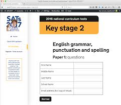 ks1 writing sats papers sats2017 sats past papers you can complete online