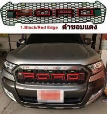 front grill ford ranger front grille grill lit led black ford ranger wildtrak mk2 px2