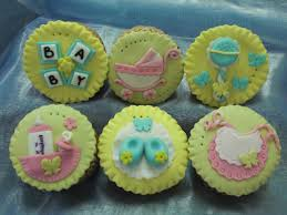 cupcake baby shower decoration wholesale 2015pink blue green