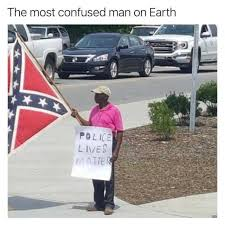 dopl3r com memes the most confused man on earth police