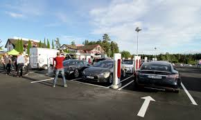 nissan leaf charging points world u0027s largest fast charging site opens in norway 28 electric