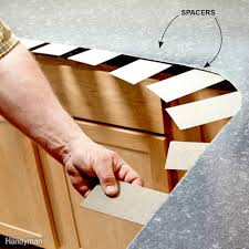Spacers For Laminate Flooring Installing Laminate Countertops Family Handyman