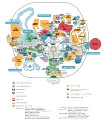 Orlando Parks Map by Magic Kingdom Disney Discount Tickets Crowds Hours
