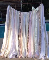 wedding backdrop garland blush and quartz backdrop gold sequin garland 6 x 6