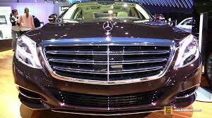 2015 mercedes s class interior 2015 mercedes s class s600 v12 exterior and interior