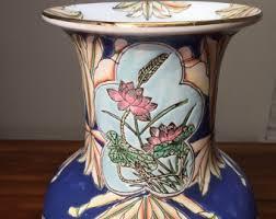 Porcelain Flower Vases Chinese Vase Etsy