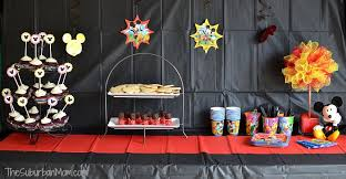 mickey mouse party showing our disneyside mickey mouse party ideas free