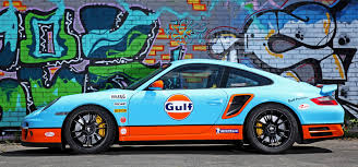 gulf car gulf racing livery by cam shaft for the porsche 911 turbo 9