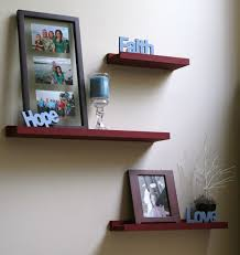 Shelf Decorating Ideas Living Room Appealing Living Room Wall Shelves Simple Diy Floating Shelves