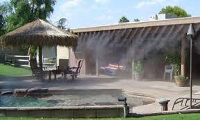 Patio Misting Kits Mist And Fog On Demand Misting Systems And Fog Effects On Patios