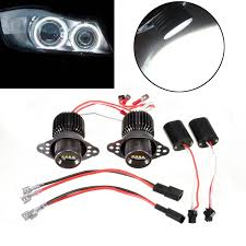 led white angel eye halogen halo light bulb 20w for bmw e90 e91