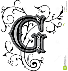 beautiful ornament letter a royalty free stock images image