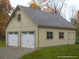 Building A 2 Car Garage by 2 Car Garage Homestead Structures