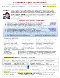 Digital Marketing Consultant Resume Resume Search Engine Wes Faires Search Engine Optimization Seo