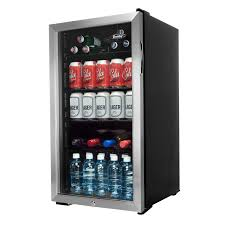 cheap glass door bar fridge danby 3 3 cu ft bar fridge dbc120bls black bar fridges