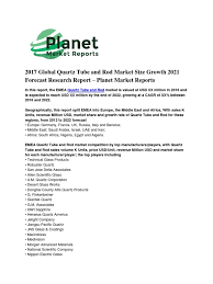 Dental Planet 2016 Q1 Mailer By Dental Planet 2017 Global Quartz And Rod Market Size Growth 2021 Forecast