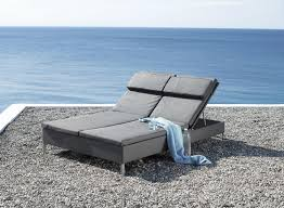 rest double sunbed sun loungers from cane line architonic