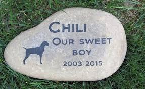 memory stones vizsla memorial grave marker vizsla memory 9 10 memorial b