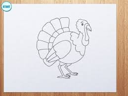 how to make the perfect thanksgiving turkey how to draw a cartoon turkey thanksgiving day youtube