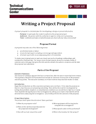 informal proposal letter example writing a project proposal a