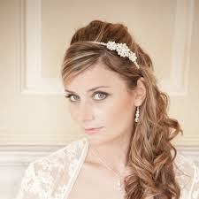bridal headband ii vintage pearl bridal headband