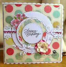 crafting queen birthday card for a special lady