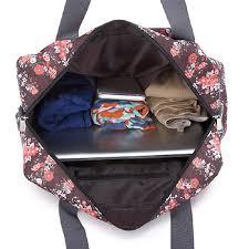 Massachusetts Travel Handbags images Makorster portable fashion women travel bag weekend nylon floral jpg